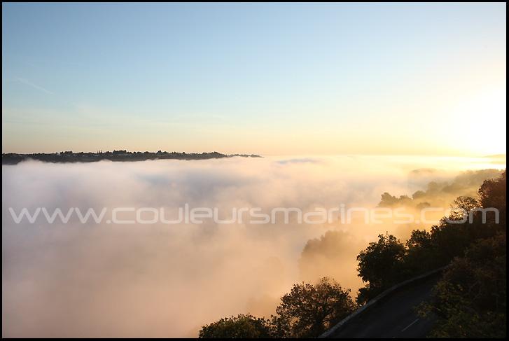 photo, la loire, photos de la Loire, brume, brouillard, champtoceaux, oudon, erik brin, photographe de Loire, La Loire,