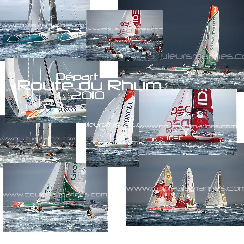 La Route du Rhum 2010, Photos, Départ de la Route du Rhum 2010, Photos  de la Route du Rhum 2010, Erik Brin, Photographe de mer, Route du Rhum 2010