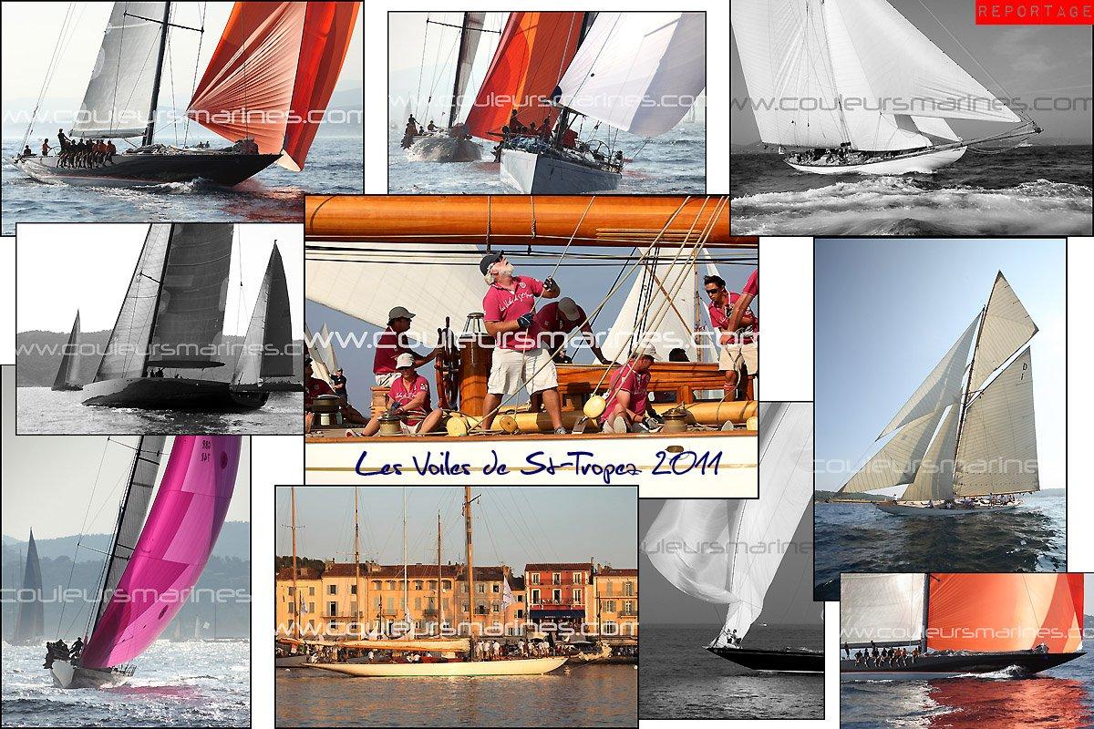 Les Voiles de Saint Tropez 2011 en photos