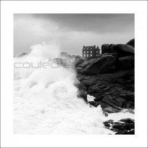 Photo, tempête en Bretagne, Ploumanac'h