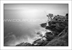 Pornic, Côte de Jade, pêcherie, Loire Atlantique. Erik Brin, photographe de mer