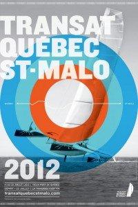 L'affiche de la transat Québec - St-Malo 2012.  TransatQSM2012-2-200x300